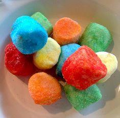 Marshmallow Squisharoos Recipe, How To Make Marshmallow Squisharoos, JELLO-O Recipes, Gelatin Recipes, Candy Recipes Gelatin Recipes, Jello Recipes, Candy Recipes, Snack Recipes, Pudding Recipes, Pie Recipes, How To Make Marshmallows, Recipes With Marshmallows, Yummy Treats