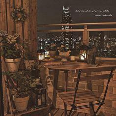 5時間ぶっ通しで#ベランダ掃除 。ようやく台風の後始末完了。#balcony #interior #interiordesign #gardening #nightview #shinjuku #tokyo #japan #ikea #diy #板壁 #ベランダ #ベランダガーデニング #夜景 #cleanup #led #新宿 #diy #高層マンション #賃貸 #タワーマンション #tableandchair #plants