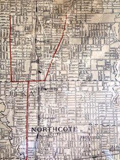 city of Northcote map - Broken Promises, Melbourne Victoria, Genealogy, Old Photos, 1920s, Maps, Centre, Cities, Australia