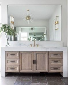 Bathroom decor for the master bathroom remodel. Learn master bathroom organization, master bathroom decor ideas, bathroom tile tips, bathroom paint colors, and much more. Diy Bathroom, Bathroom Style, Bathroom Layout, Bathroom Vanity, Bathroom Interior, Modern Bathroom, Bathroom Renovations, Luxury Bathroom, Bathroom Decor