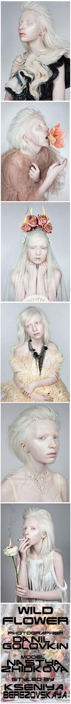 wild flower - model Nastya Zhidkova - photographed by Danil Golovkin for Fashion Gone Rogue