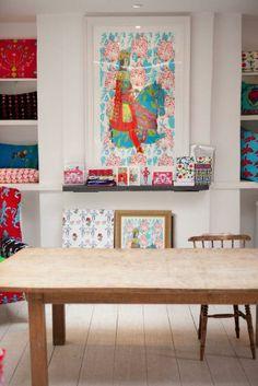 Corita Rose's Vibrant & Colorful Studio Workspace Tour