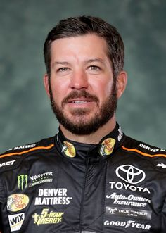 Martin Truex Jr. speaks to the media as one of the 16 drivers eligible to win the Monster Energy NASCAR Cup Series Championship during the 2017 NASCAR Playoffs Production & Media Day at NASCAR Hall of Fame on September 13, 2017 in Charlotte, North Carolina.