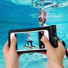Underwater telepon bag kasus penutup untuk samsung galaxy s7 s6 edge s5 s4 5 4 3 universal waterproof pouch untuk iphone 7 6 6 s ditambah