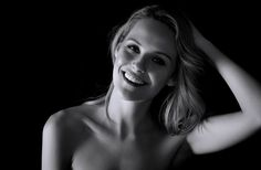 Black white portraits on Behance