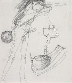 Joseph Beuys drawings -