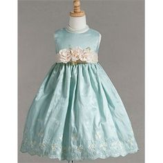 robins egg blue dress for my imaginary grand daughter