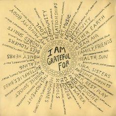 gratitude like a ray of sunshine