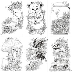 Doodle Invasion Drawings