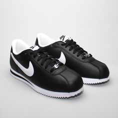Nike Cortez Basic Leather 06 Black/White