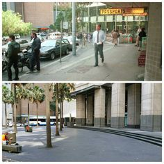 Chifley Square looking north west from Phillip St 1988 > 2016 of Sydney Hawley. By Allan Hawley] Sydney City, North West, Street View, Australia, History, Historia