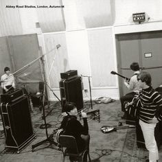 The Beatles @ EMI studio, 1964
