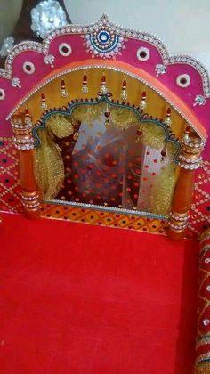 Trendy origami decoration home flower tutorial Ideas Mandir Decoration, Thali Decoration Ideas, Ganapati Decoration, Diwali Decorations, Festival Decorations, Flower Decorations, Diwali Craft, Diwali Diya, Ganesh Chaturthi Decoration