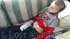 """Gavin's #IVIG Infusion went well 5/16/2014""   Let me infuse some positivity into the mix..  See what I did there?   ..... to get the full story, click the link and the ""Like"" button. ;-)   http://www.lostandtired.com/2014/05/16/gavins-ivig-infusion-went-well-5162014/  #Autism #Family #SPD #SpecialNeedsParenting"