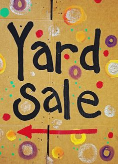 7 Tips to having a successful yard sale.