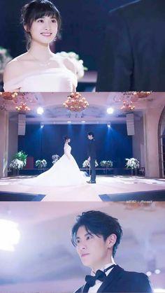 Diy Wedding Flower Centerpieces, Wedding Reception Flowers, Wedding Scene, Our Wedding Day, Wedding Decorations, Los F4, Princess Weiyoung, Neutral Wedding Colors, Meteor Garden 2018