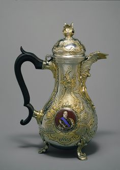Johan Henrik Blom, Silver Tea and Coffee Service, Russian, 1773