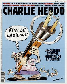 Charlie Hebdo - # 1228 - 3 Février 2016 - Couverture : Vuillemin