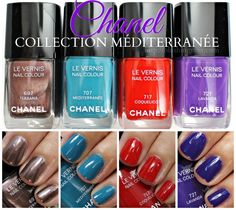 Chanel Collection Mediterranee Le Vernis Nail Colour for Summer 2015