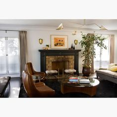 Nickey Kehoe - Hancock Park Living Room 2