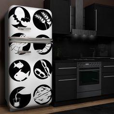 Klebefolien für Kühlschrank Elektronik Haushaltsgeräte 317573