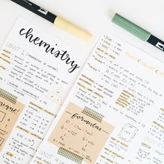time for motivation. Cute Notes, Pretty Notes, Good Notes, School Organization Notes, Study Organization, Chemistry Notes, Science Notes, Physics Notes, Study Chemistry