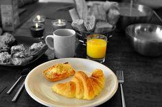 Continental, Breakfast, Croissant