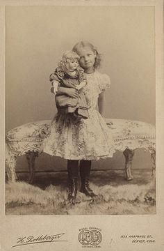 Girl and Doll.jpg | Flickr - Photo Sharing!