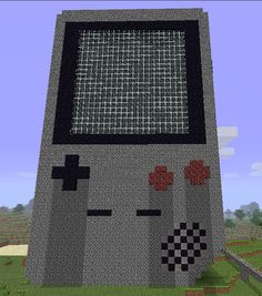 Minecraft creations - GAME BOY....if i only had the patience in minecraft to create this!