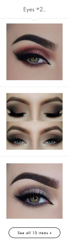 """Eyes #2..."" by lola0413 ❤ liked on Polyvore featuring beauty products, makeup, eyes, eye makeup, beauty, false eyelashes, eyeshadow, eye shadow, cosmetics and backgrounds"