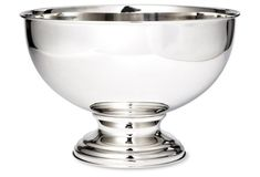 use revere bowl or punch bowl as a wine bucket