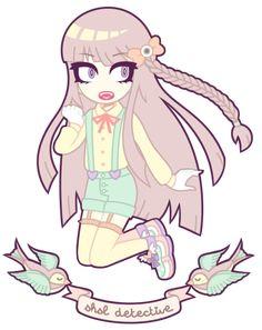 Dangan Ronpa: Kyouko Kirigiri by nekozneko on deviantART