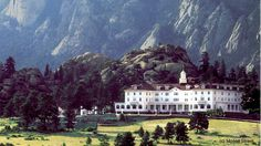 Top 10 Haunted hotels in America. This is where Stephen King's The Shining was filmed.