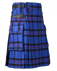 Scottish Great Highland 8 Yards Traditional Kilt Elliot Modern Tartan Acrylic Wool Size ( 30 to 50 inches ) Inner lining protects quality and ensures comfort Machine Washable Scottish Kilts, Scottish Tartans, Kilts For Sale, Utility Kilt, Tartan Kilt, Men In Kilts, Acrylic Wool, Fashion Brands, Topshop