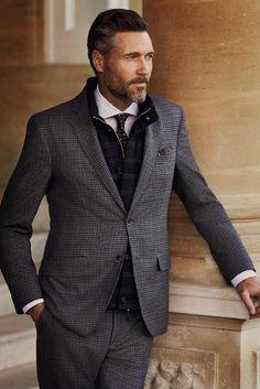preludetoreality:  Hackett London Suit AW'14