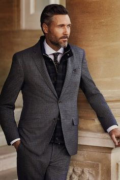 preludetoreality:  Hackett London Suit AW'14