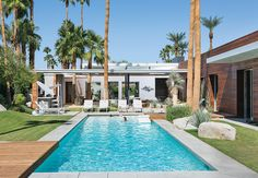 A Canadian family's getaway in the California desert.