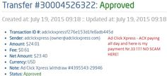http://www.adclickxpress.com/?r=vidur&p=aa AdClickXpress is the top choice for passive income seekers. Making my daily earnings is fun, and makes it a very profitable! I am getting paid daily at ACX and here is proof of my latest withdrawal. This is not a scam and I love making money online with Ad Click Xpress.