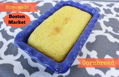 Homemade Boston Market Cornbread. This homemade cornbread recipe is one to keep on hand at all times. Easy cornbread recipes like this one make great go-to side dishes.