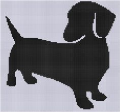 Weiner Dog 4 Cross ... by Motherbeedesigns | Embroidery Pattern - Looking for your next project? You're going to love Weiner Dog 4 Cross Stitch Pattern by designer Motherbeedesigns. - via @Craftsy