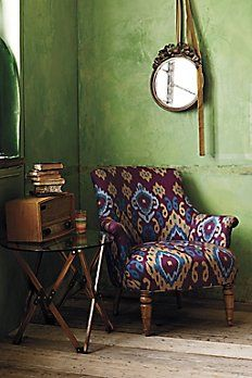 Anthropologie | Eclectic Reading Nook