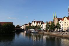 Schöne Sicht auf Lübeck!