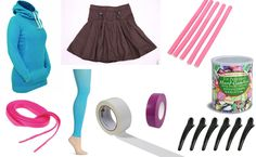 Perfect homemade Vanellope costume! Items already located with links to purchase. :)