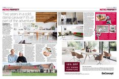 Duncan and Andrea's listed barn conversion in South Somerset was featured in the property supplement of the Metro Newspaper today. Somerset Levels, Caravan Living, Listed Building, Boconcept, Sustainable Architecture, Design Consultant, New Builds, Editor, Conversation