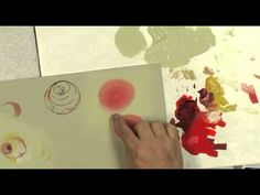 How to Paint a Simple Stroke Rose Paint It Simply.flv - YouTube