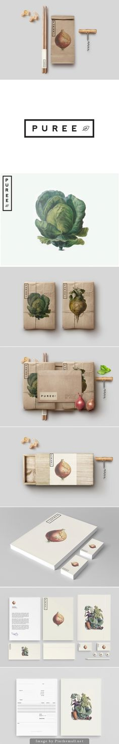 Branding Inspiration: Puree Organics by Studioahamed