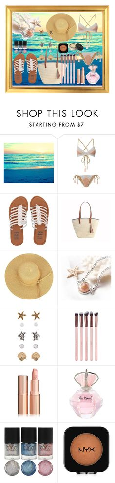 """""""Fashion Beach Painting"""" by chayanit-ear ❤ liked on Polyvore featuring Suboo, Billabong, Accessorize, NYX and NARS Cosmetics"""