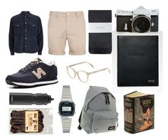 """for matty"" by portia-clementine ❤ liked on Polyvore featuring Paul Smith, Topman, New Balance, Hobbs, KRISVANASSCHE, Cutler and Gross, Graphic Image, Casio, Eastpak and SIGG"