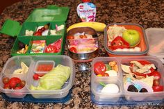 Healthy Kids Lunches and Snacks