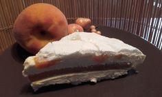 Torta+meringa+e+pesche